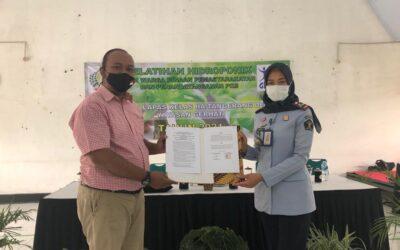 Adakan Pelatihan Hidroponik, Lapas Kelas IIA Tangerang Bekerjasama Dengan Yayasan Gerhati