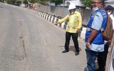 Perbaikan Jalan Dan Jembatan Tanbu, Telan Anggaran Belasan Milyar