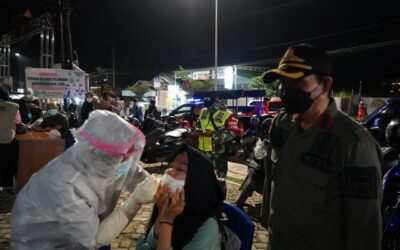 Satgas Covid-19 Simpang Empat Gelar Operasi Yustisi Penegakan Prokes