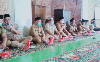 Instruksi Bupati Seluruh SKPD  Berzikir Dan Bersholawat, Kadis Kominfo Ke Desa Maju mulyo