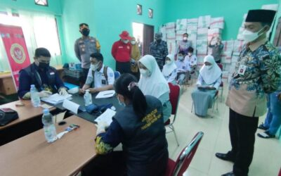 Dukung PTM, BIN Laksanakan Vaksinasi Massal Untuk Pelajar Di Tanbu